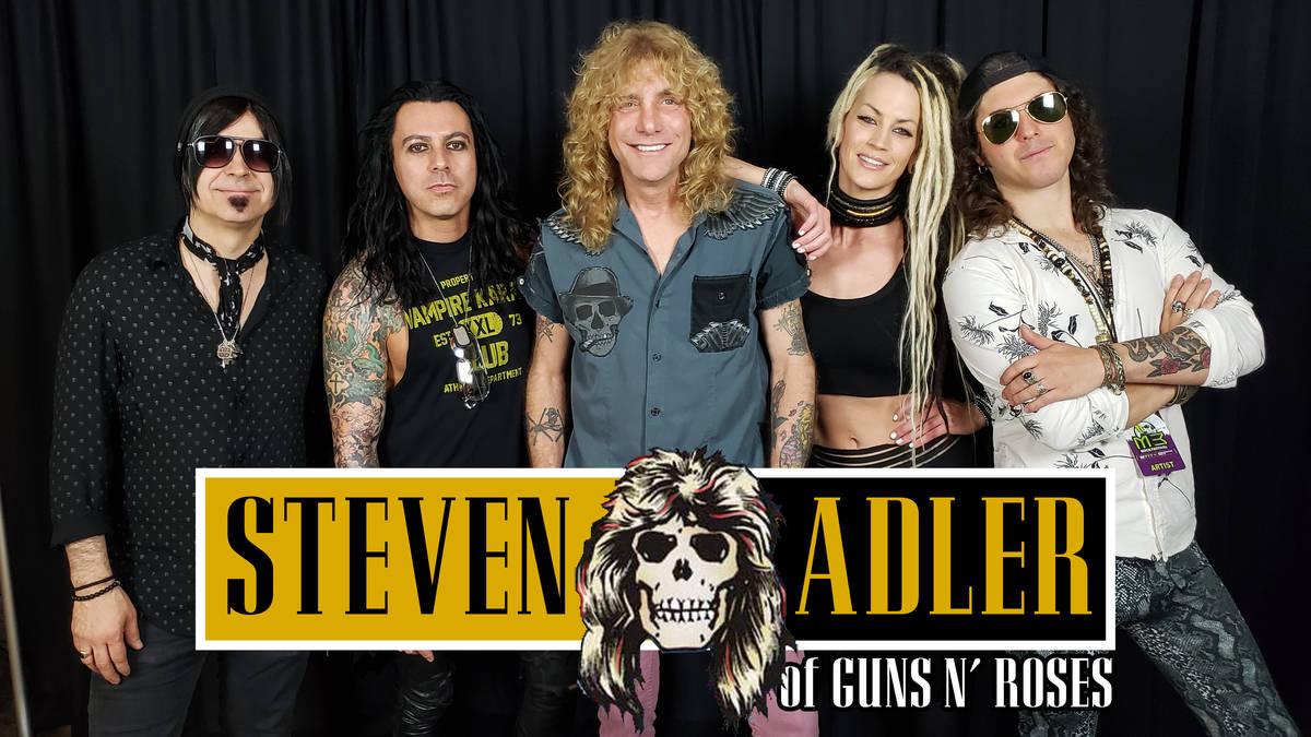 Former Guns N' Roses drummer Steven Adler is part of the 2021 Downtown Rocks free-concert serie ...