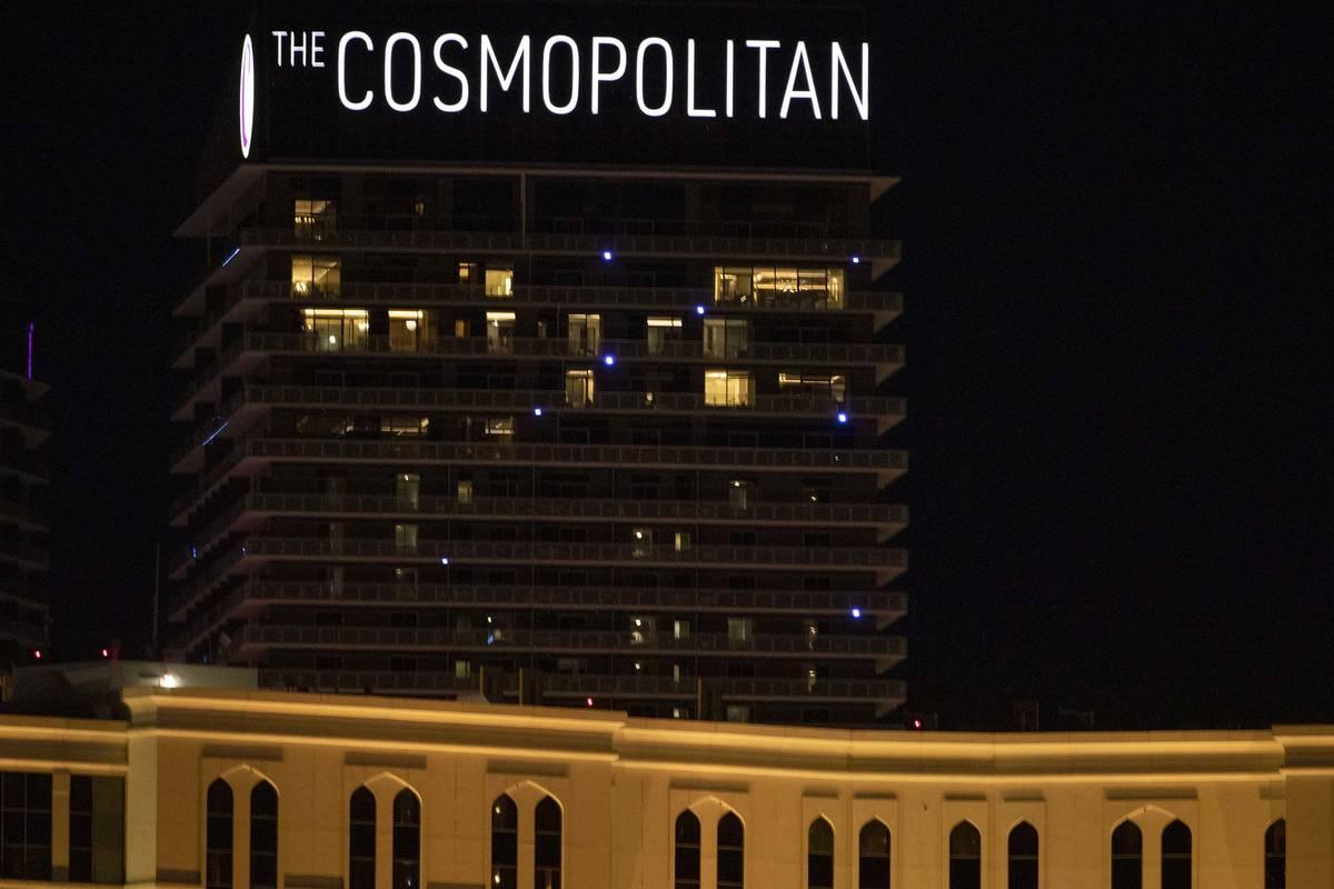 The Cosmopolitan of Las Vegas is seen in this Dec. 16, 2019, file photo. (Ellen Schmidt/Las Ve ...