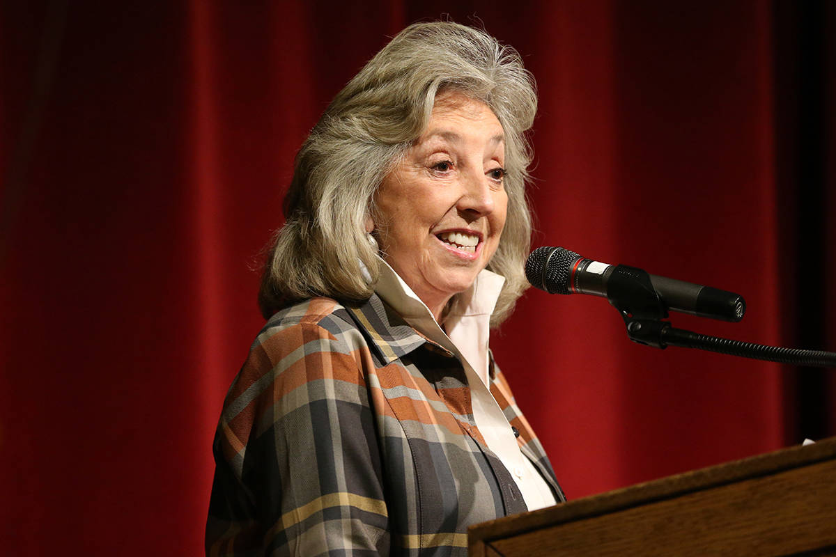 Rep. Dina Titus, D-Nev., was instrumental in getting funds for roads and public transit project ...