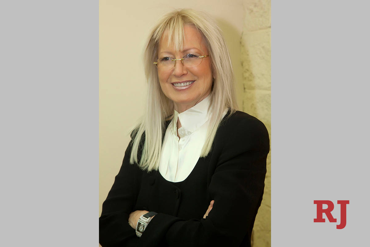 Las Vegas resident and Israeli-American Dr. Miriam Adelson is a philanthropist, researcher, phy ...