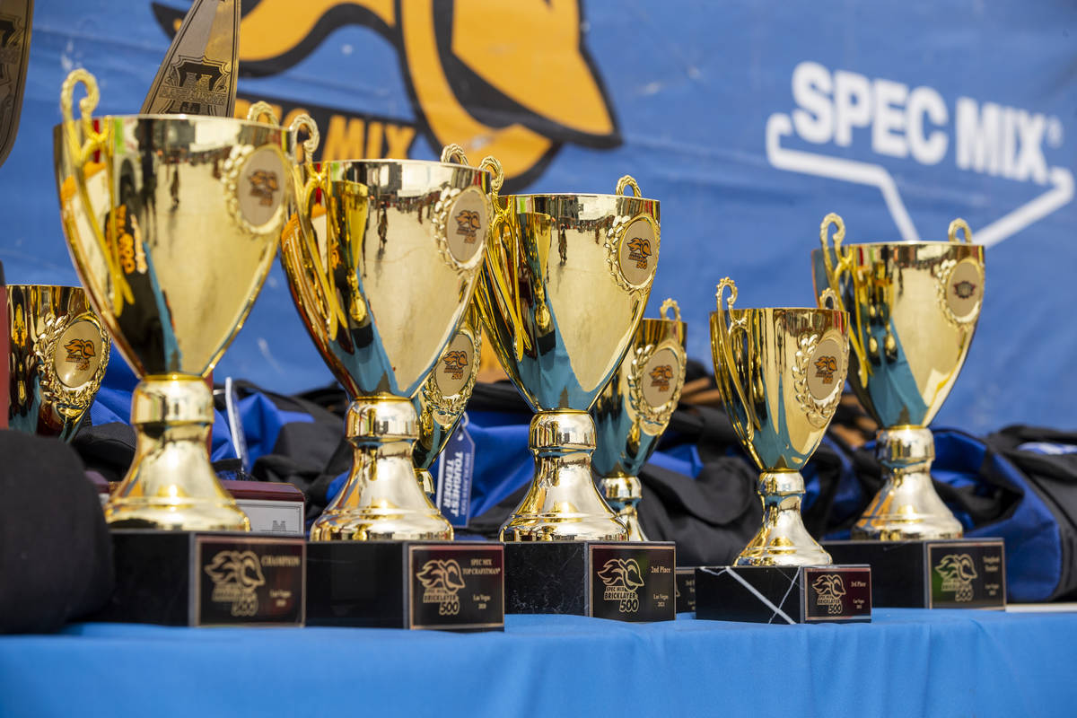 Trophies will be awarded following the Fastest Trowel on the Block competition in preparation f ...