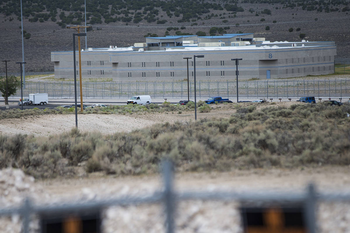 Ely State Prison (Chase Stevens/Las Vegas Review-Journal)