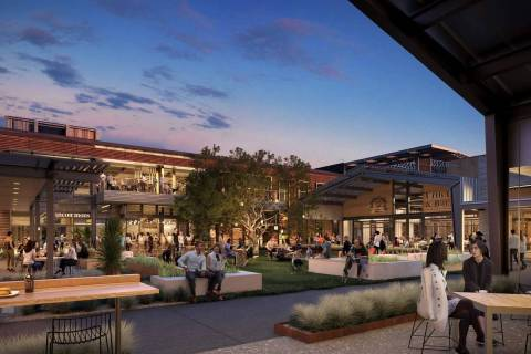 An artist's rendering of the UnCommons mixed-use community. (Mina Group)