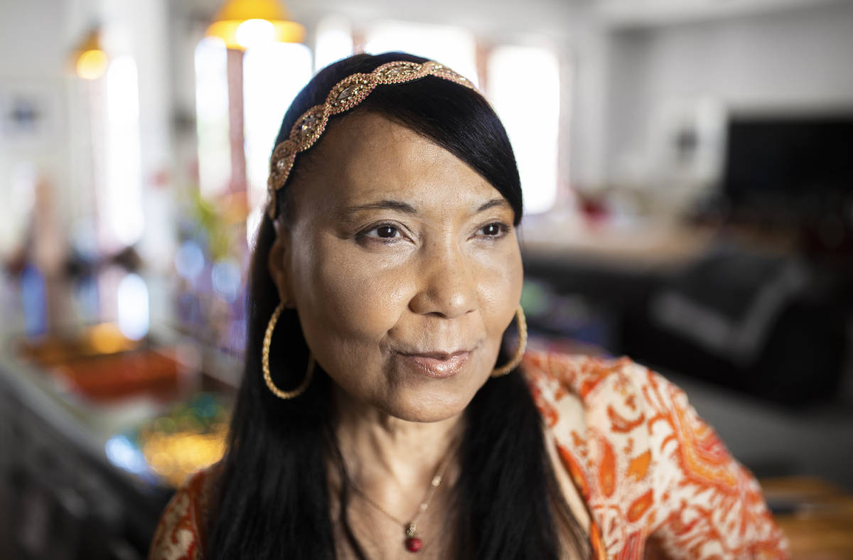 Chef/instructor Regina Mitchell works with Blindconnect to teach blind and low vision people ho ...