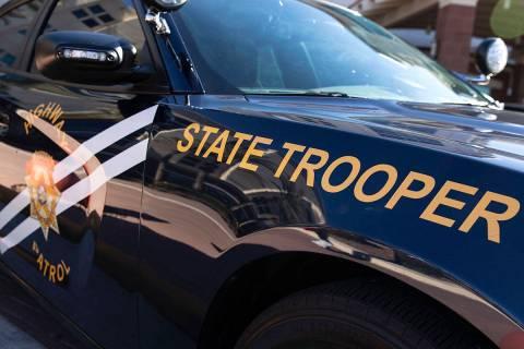 Nevada Highway Patrol (Bizuayehu Tesfaye/Las Vegas Review-Journal)