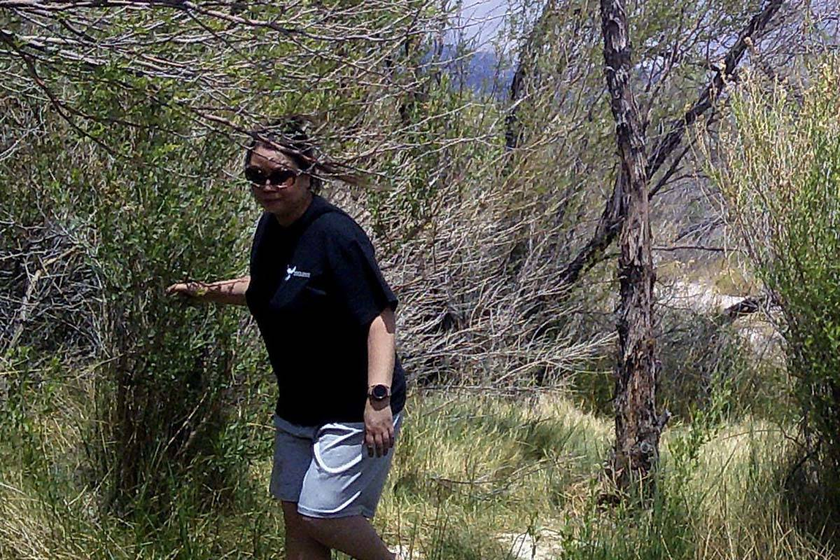 The Ash Meadows National Wildlife Refuge is asking for the public's help in identifying this wo ...