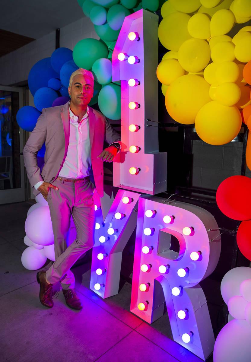 Alternative lifestyle bar The Garden owner Eduardo Cordova is celebrating their one-year annive ...