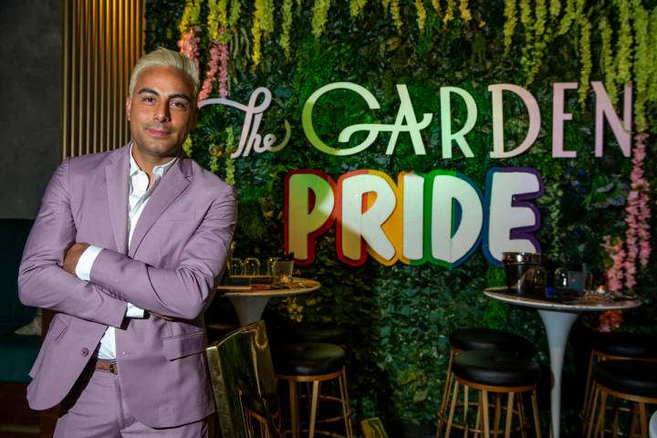 Eduardo Cordova is the owner of the alternative lifestyle bar The Garden Las Vegas, which just ...