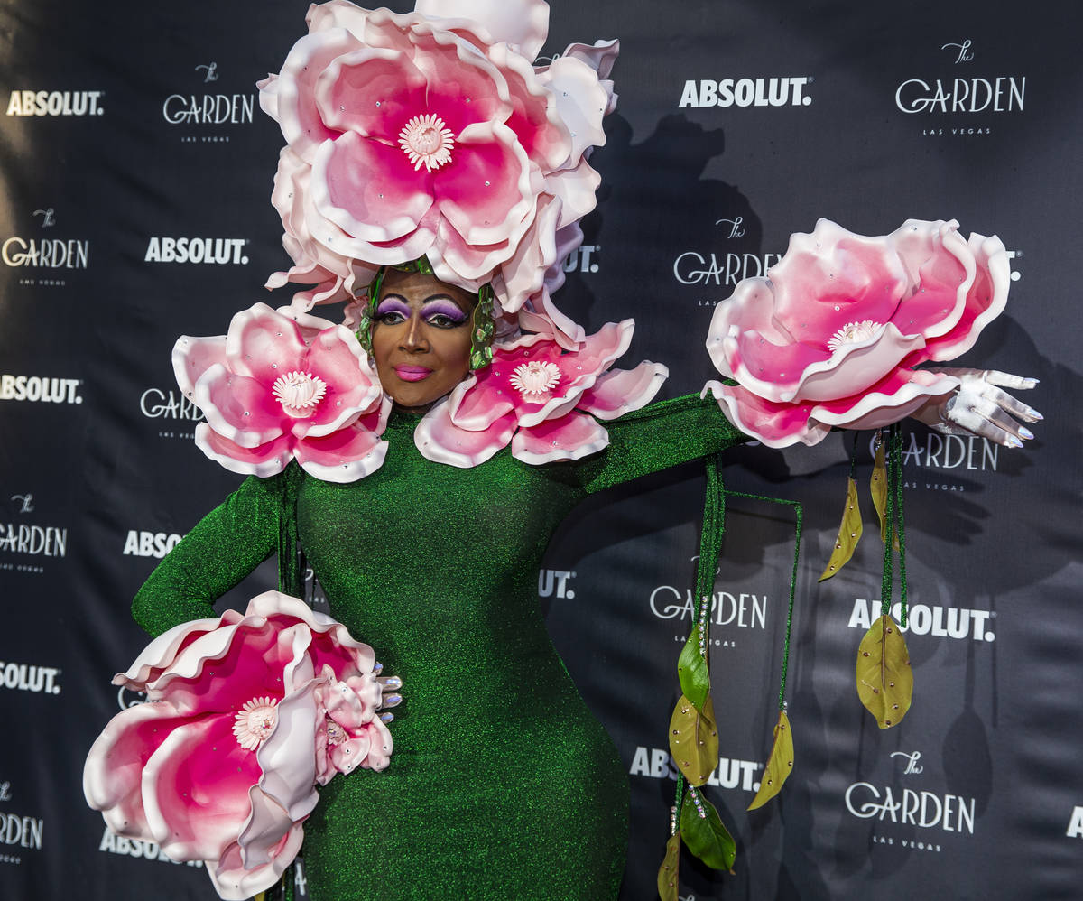 Coco Montrese from Season 2 of RuPaul's Drag Race on the red carpet as alternative lifestyle ba ...