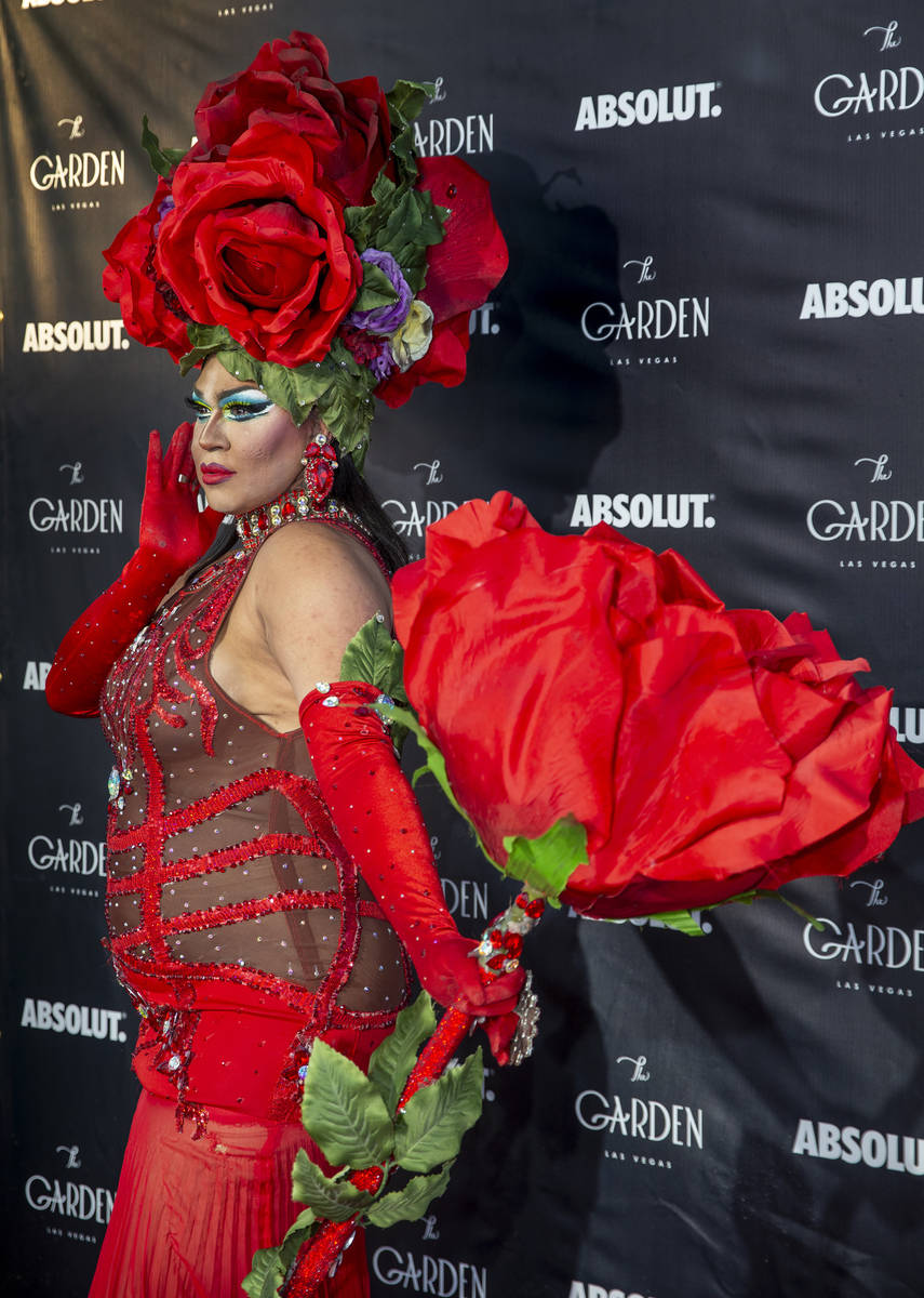 Desiree Dee St. James on the red carpet as alternative lifestyle bar The Garden is celebrating ...