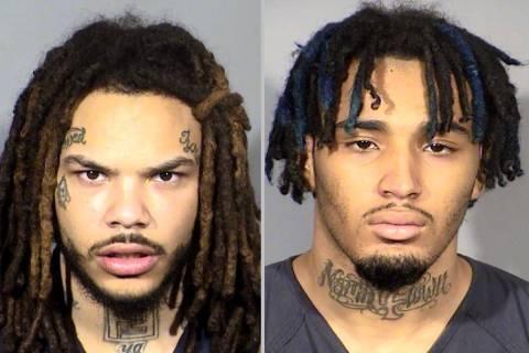 Dasean Williams, left, and Marcus Prater (Las Vegas Metropolitan Police Department)