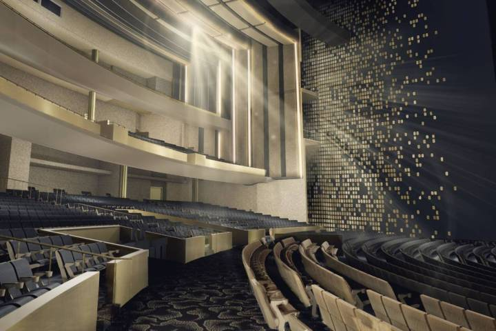 The Theatre at Resorts World will seat 4,700 (Resorts World Las Vegas)