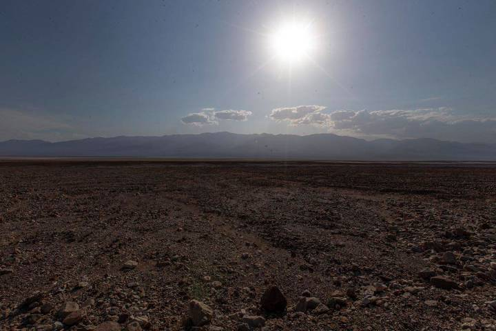 A high of 126 is forecast for Death Valley National Park on Wednesday, June 16, 2021, according ...