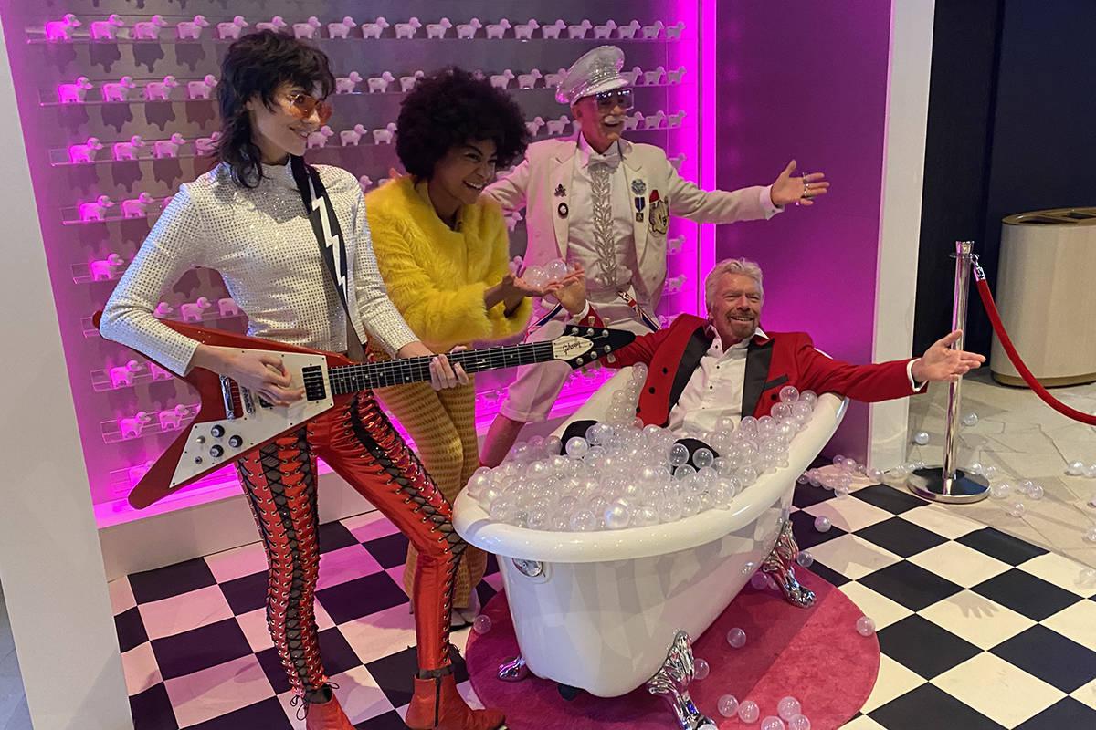 Richard Branson is down to Earth in Virgin Hotel trip