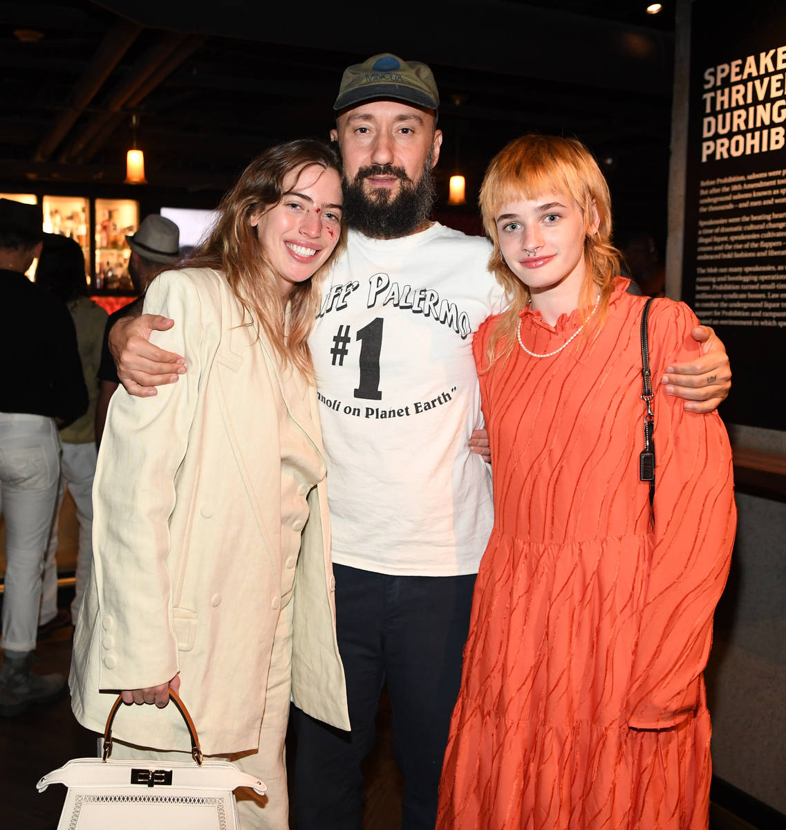Actress Clara McGregor, writer/ director Jimmy Giannopoulos and actress Esther McGregor attend ...