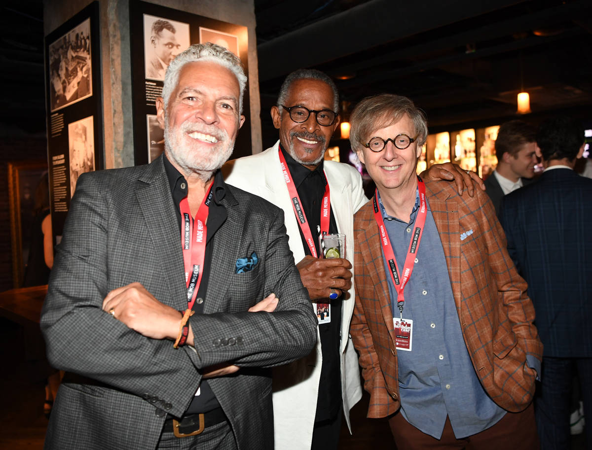 Singer/ songwriter Clint Holmes, actor Antonio Fargas and magician Mac King attend the world pr ...