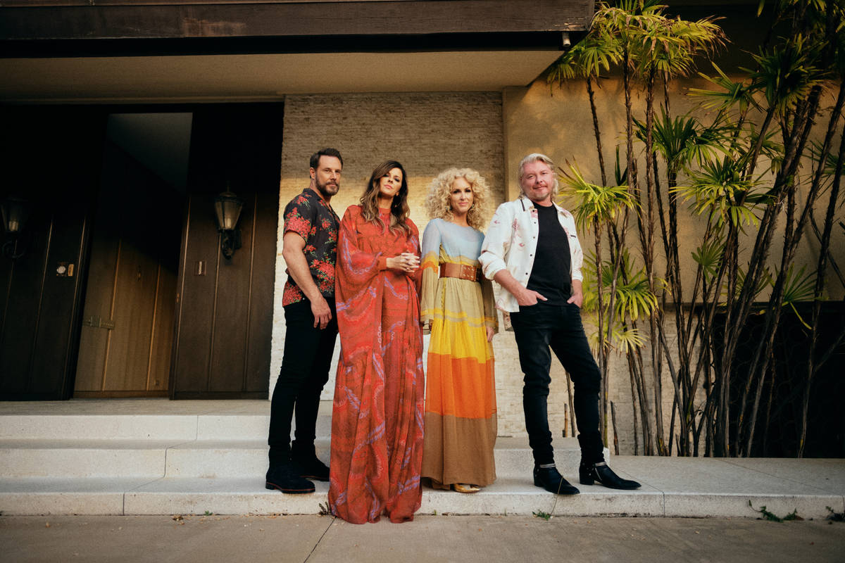 Little Big Town headlines at The Theater at Virgin Hotels Las Vegas in December. (AEG Presents)
