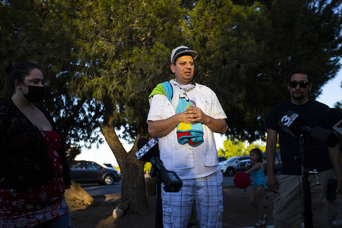 Nicholas Husted, of San Jose, whose son, Liam Husted, was found slain near Mountain Springs on ...