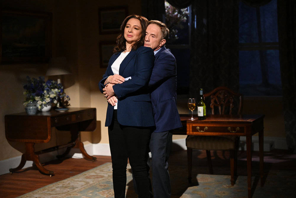 "SATURDAY NIGHT LIVE -- ""Maya Rudolph"" Episode 1800 -- Pictured: (l-r) Host Maya Rudol ..."