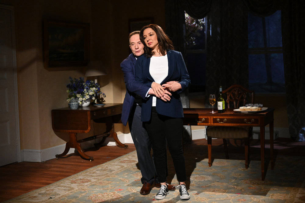 """SATURDAY NIGHT LIVE -- """"Maya Rudolph"""" Episode 1800 -- Pictured: (l-r) Martin Short as ..."""