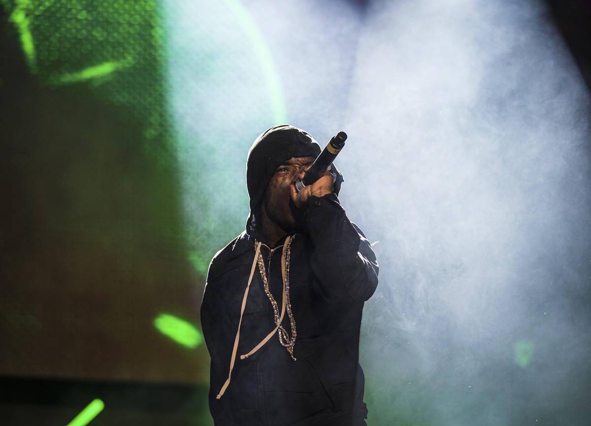 Lil Uzi Vert will return as a performer at Day N Vegas 2021. (Benjamin Hager/Las Vegas Review-J ...