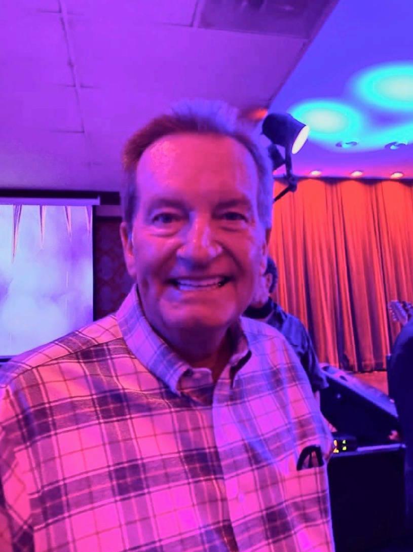 Jim Fassel is shown at Italian American Club after a performance by Bucky Heard, John Wedemeyer ...