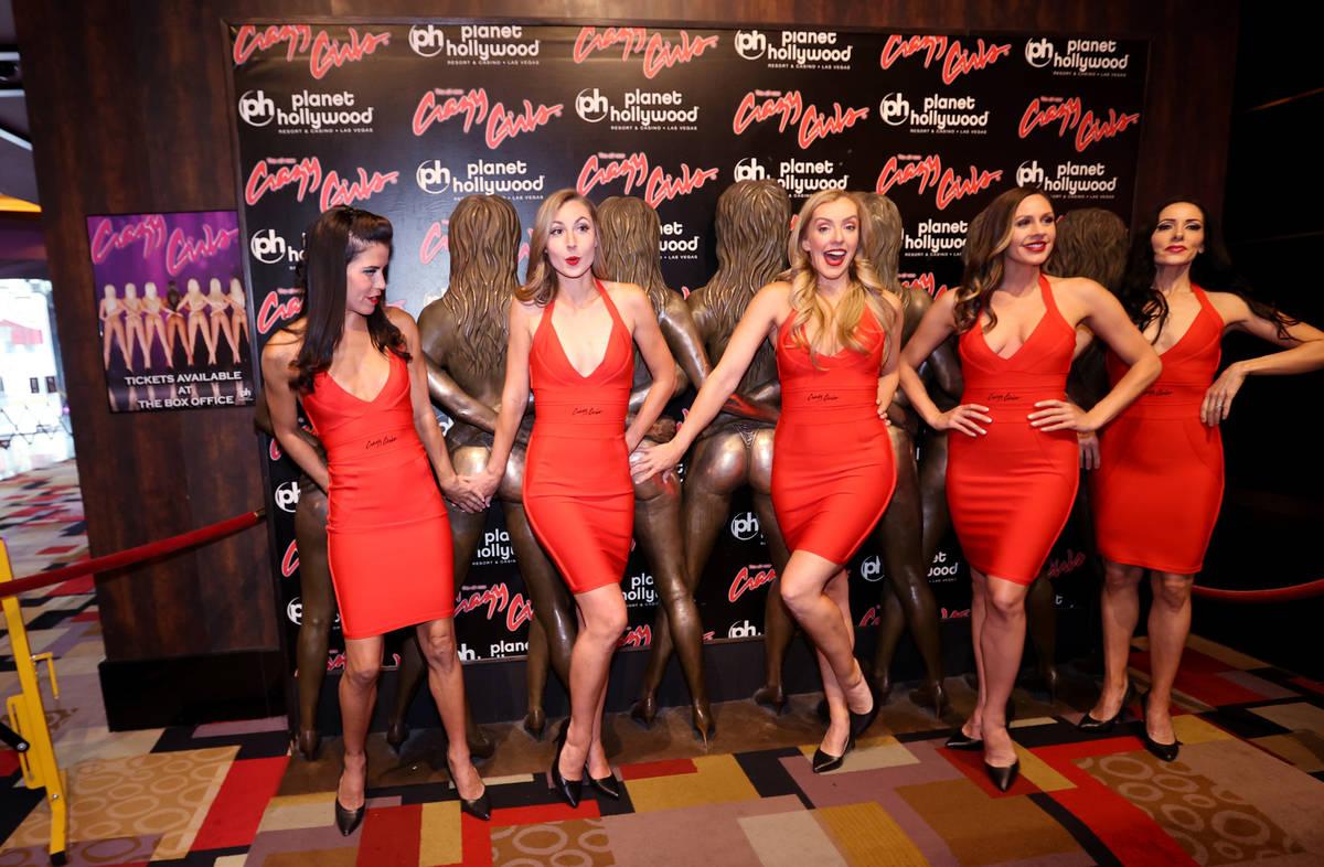 "ÒCrazy Girls,"" from left, Jessica Delgado, Sarah Canning, Sarah Storey, Lauren Newman ..."