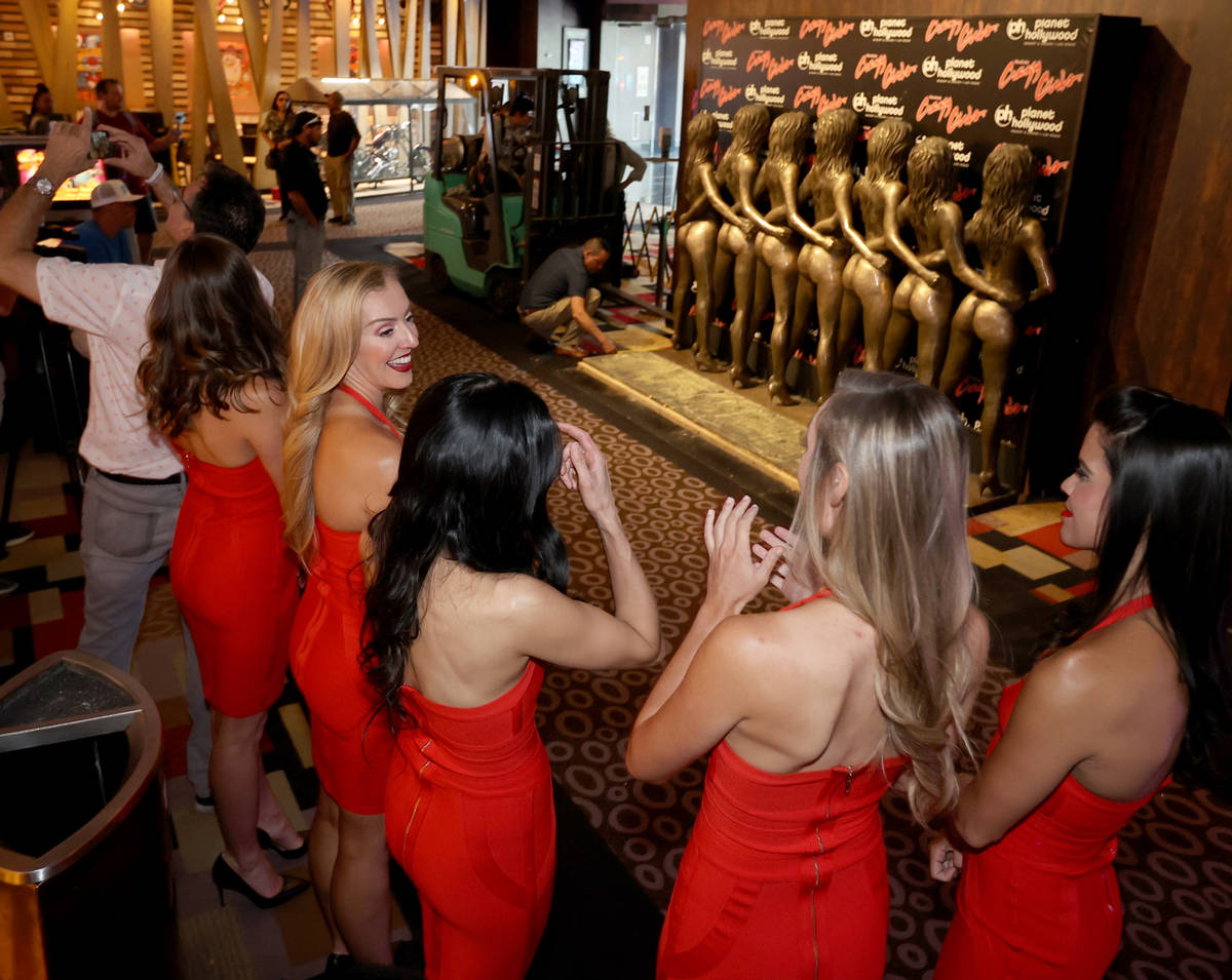 "ÒCrazy Girls,"" from left, Lauren Newman, Sarah Storey, Anna Van Sambeck, Sarah Cannin ..."