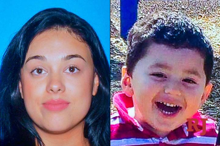 Samantha Moreno Rodriguez, left, and Liam Husted, right (Las Vegas Metropolitan Police Department)