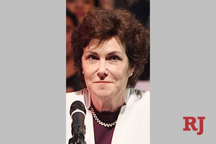 Nev. Sen. Jackie Rosen (Review-Journal file photo)