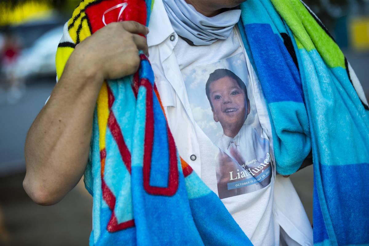 Nicholas Husted, of San Jose, California, whose son, Liam Husted, was found slain near Mountain ...