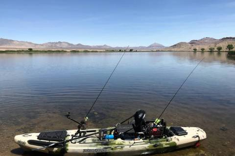Getting set for a day of fishing at Nesbitt Lake, the centerpiece of the Key Pittman Wildlife M ...