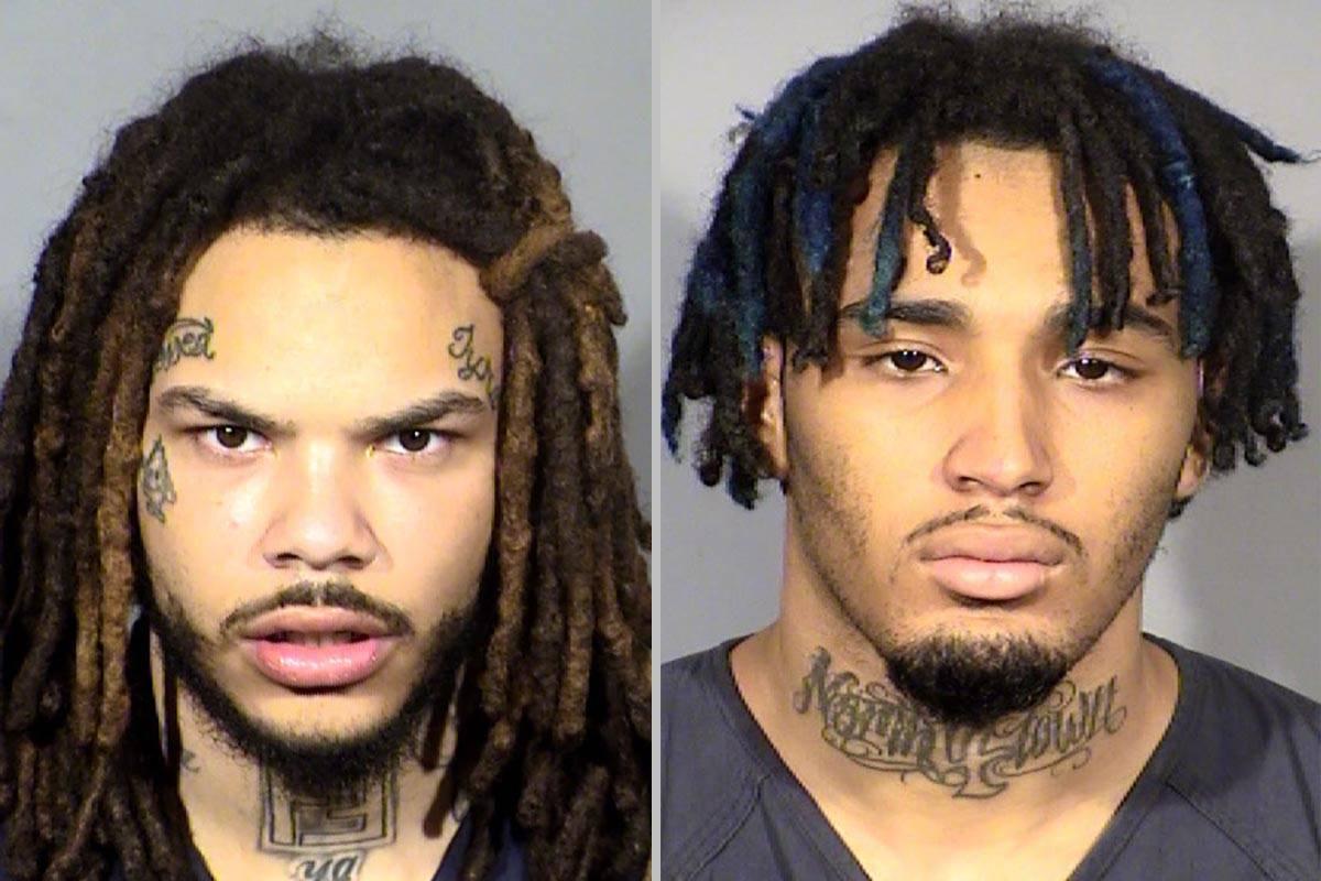 Dasean Williams, left, and Marcus Parker (Las Vegas Metropolitan Police Department)
