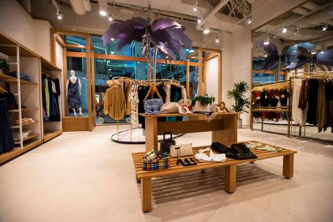 A view inside of the Fred Segal store at The District during a tour of Resorts World ahead of i ...
