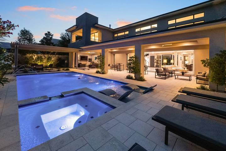 Carlos Santana has put his investment property in The Ridges in Summerlin on the market for $2. ...