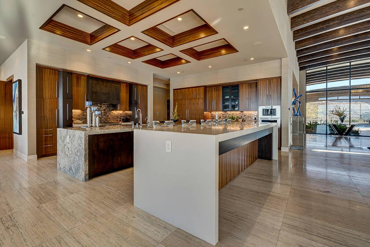 The kitchen. (Sun West Luxury Realty)