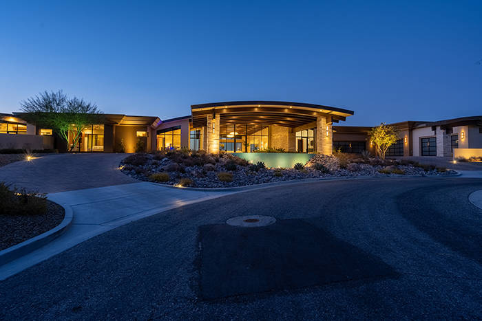 The Ascaya home sits on more than two acres. (Sun West Luxury Realty)
