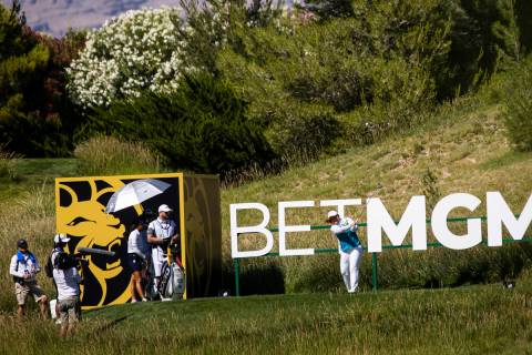 Inbee Park tees off from the 13th hole during the second round of the Bank of Hope LPGA Match P ...