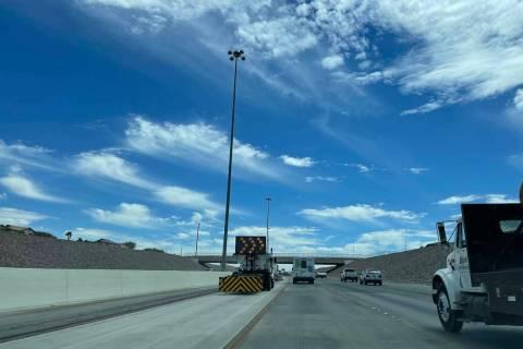Repaving of the 215 Beltway between Windmill Lane and Pecos Road is set to begin June 20, 2021. ...