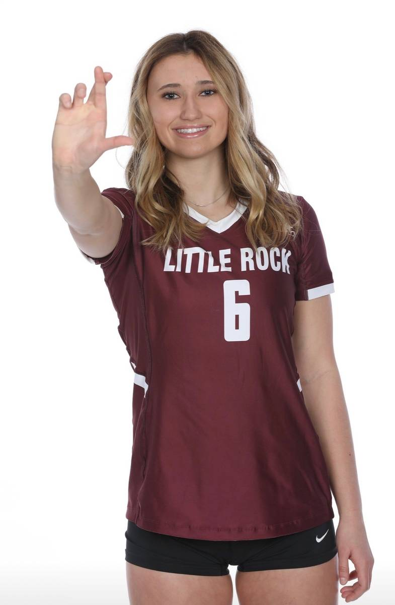 Former Durango volleyball player Aspen Steele graduated early to start her career at Arkansas-L ...