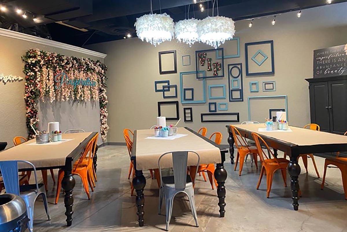 Pinspiration, which celebrated its grand opening at its Las Vegas and Henderson locations Frida ...