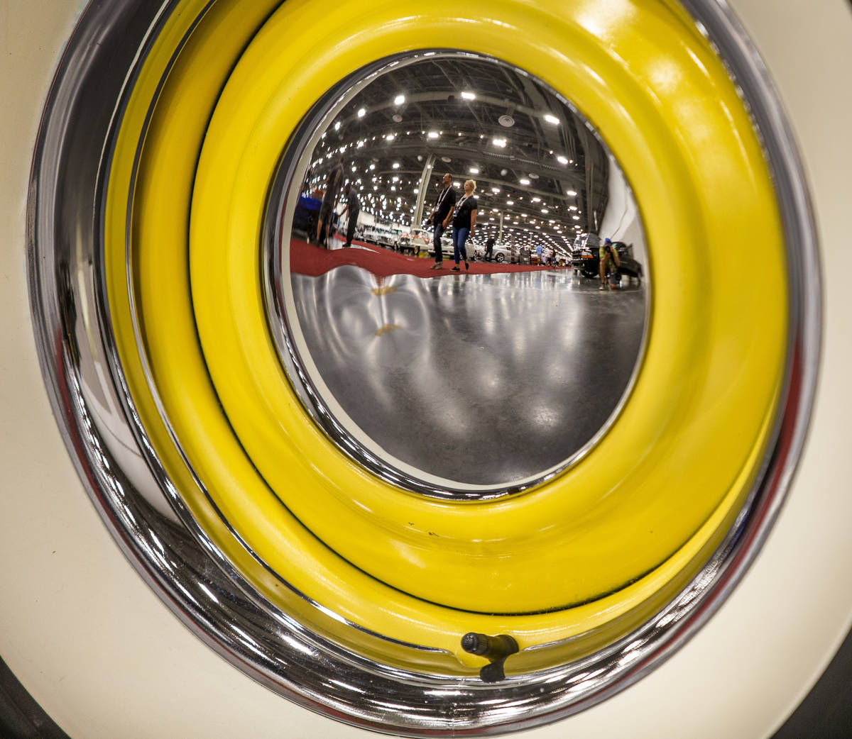 Barrett-Jackson collector car auction at the Las Vegas Convention Center West Hall on Friday, J ...