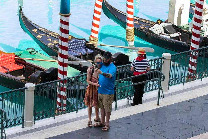 Las Vegas is expected to have a high temperature of 114 on Saturday, June 20, 2021, according t ...