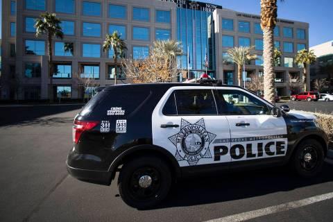 Metropolitan Police Department (Bizuayehu Tesfaye/Las Vegas Review-Journal) @bizutesfaye