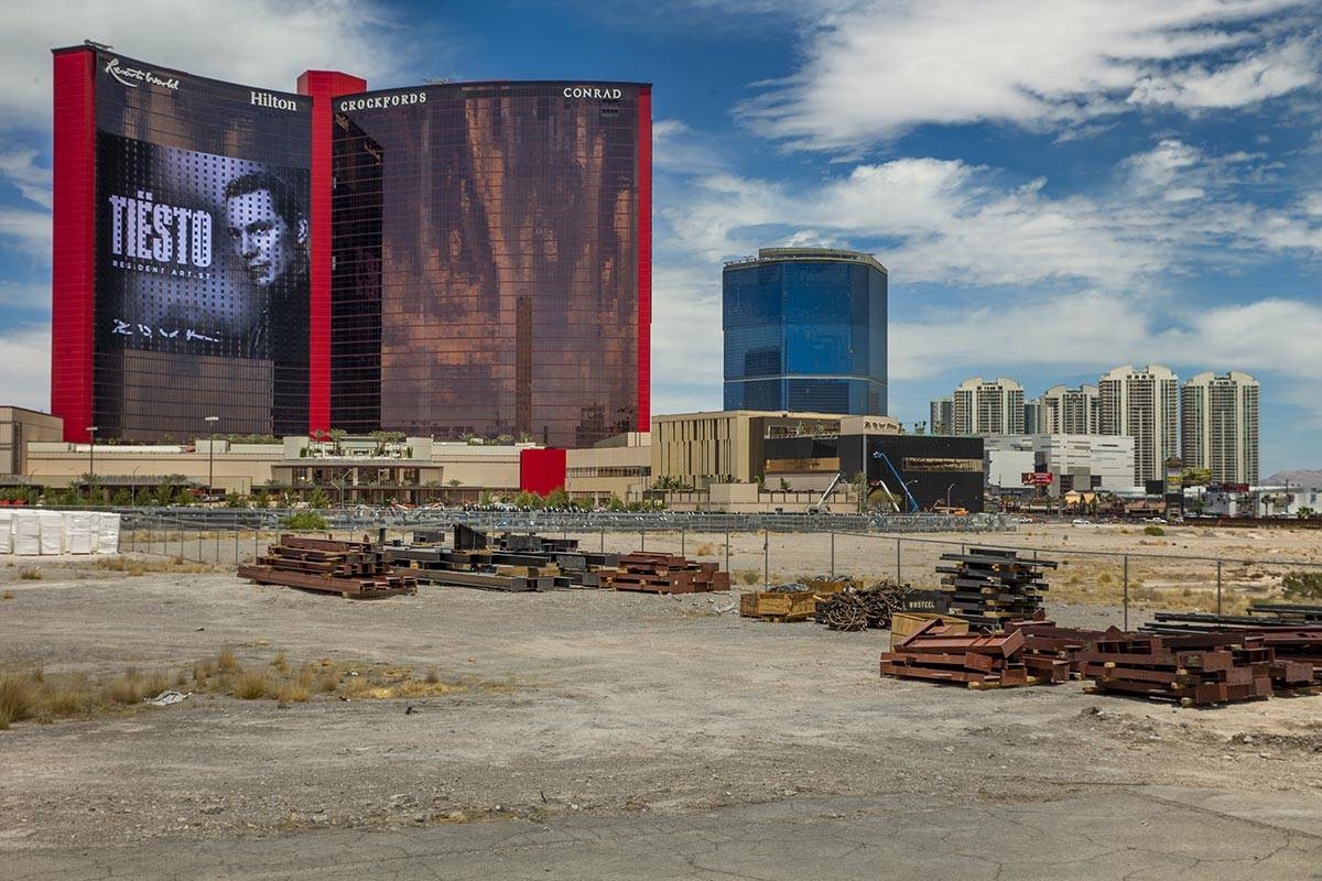Resorts World is scheduled to open this week. (L.E. Baskow/Las Vegas Review-Journal) @Left_Eye_ ...