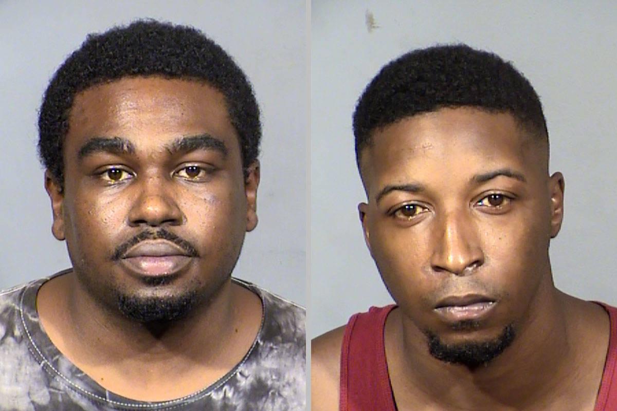 Aaron Hillard, left, and Devante Reynolds (Las Vegas Metropolitan Police Department)