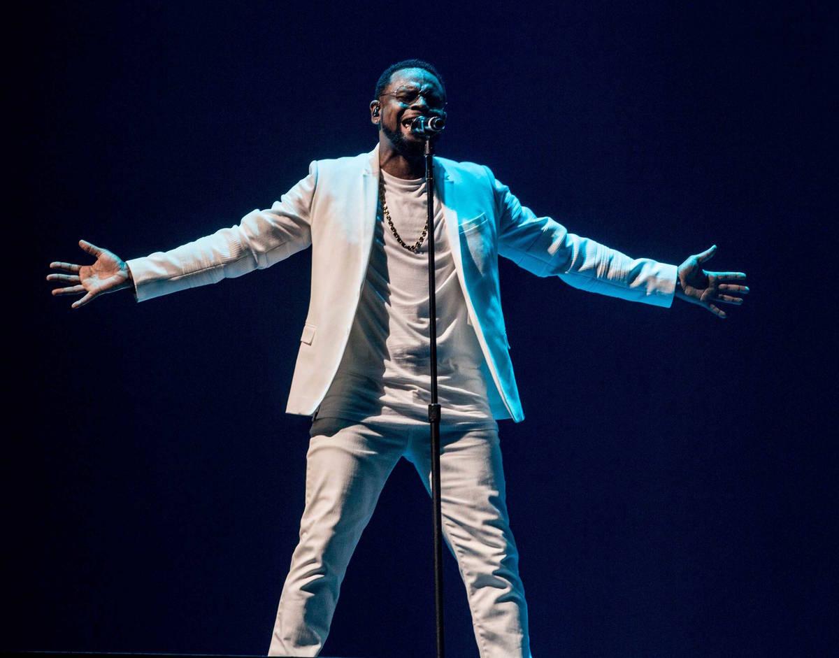 """Carl Thomas is in the lineup of singers in """"Love Muzik: The Las Vegas Residency,"""" opening J ..."""