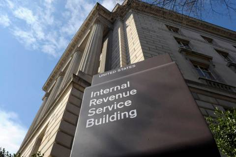 FILE - In this photo March 22, 2013, file photo, the exterior of the Internal Revenue Service ( ...