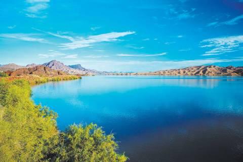 South end of Lake Havasu (Las Vegas Review-Journal)