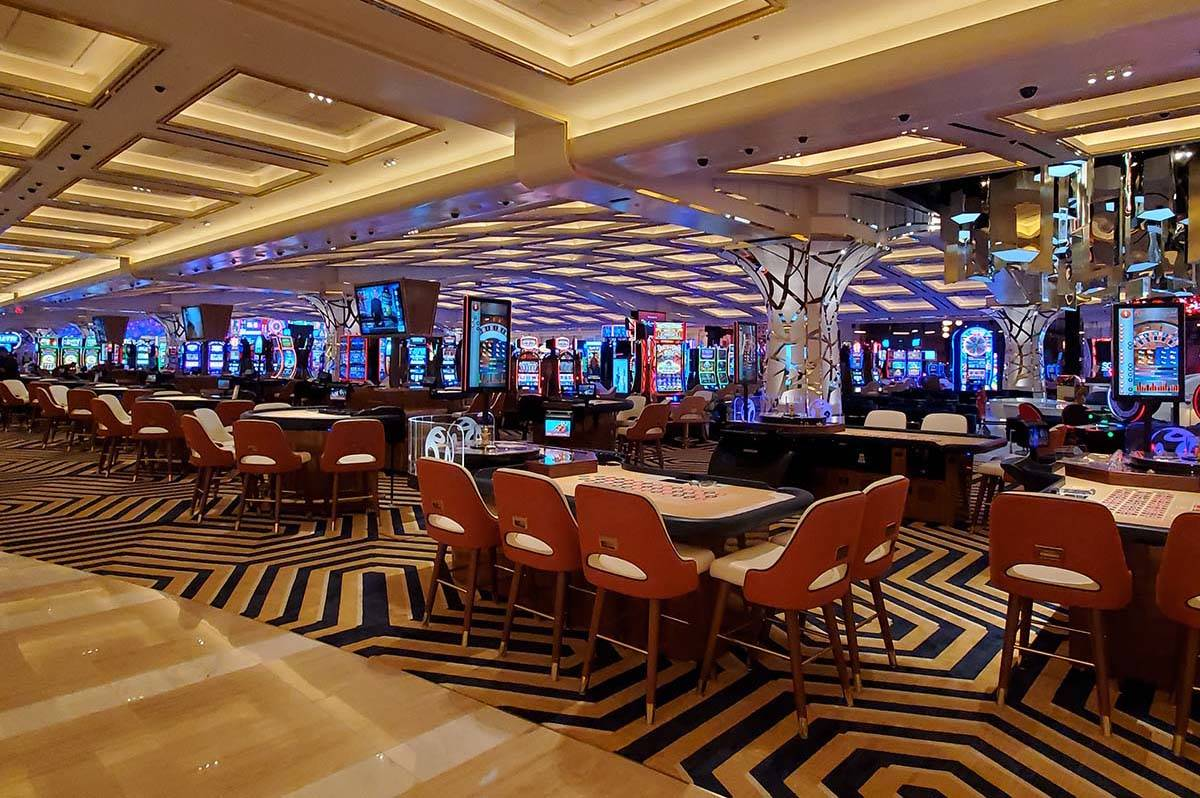 Resorts World Las Vegas opens Thursday at 11 p.m. (Chase Stevens/Las Vegas Review-Journal) @css ...